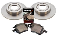 1K0615601M_BP1108 OEM Rear Brake Kit, Audi A3 2.0T