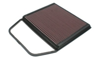 33-2367 K-N Performance Drop In Air Filter, 135-335-535
