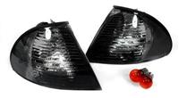 HXBME46CL-4DE-S BMW E46 3-Series 4DR 99-01 Corner Lights- Crystal