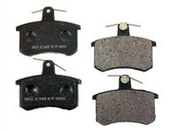 D363RU Rear, PBR Ultimate Ceramic Brake Pads - B5