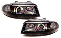 Black Ecode Projector Headlights, B5 Audi A4/S4