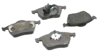 2339201 Front, Textar OEM Brake Pads, Mk4 1.8T/VR6