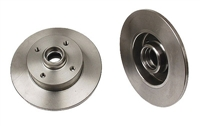 357615601_qty2 Rear Plain Rotors, Mk2/Mk3 4-cyl