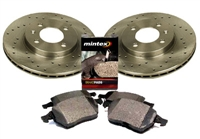 1HM615301E_X_D371MTX Front 256mm Mk3 Golf/Jetta 4-cyl Sport Brake Kit