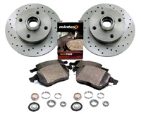 357615601_X_D104P Rear 226mm MK2/Mk3 Golf/Jetta 4-cyl Sport Brake