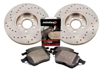 1H0615301AX_D1327MTX Front 280mm Mk3 Golf/Jetta VR6 Sport Brake Kit