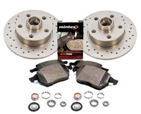 357615601B_X_D104P Rear 226mm Mk3 Golf/Jetta VR6 Sport Brake Kit