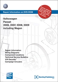VB66 Bentley, B6 Passat (2006-2009) DVD