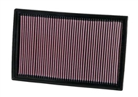 33-2384 K-N Performance Drop In Air Filter, 3.2L/3.6L