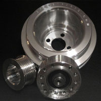 G_Pulley_ABA Gruvenparts - Billet Power Pulley Set, Mk3 2.0L