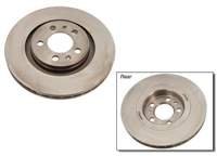 1J0615301S_qty2 Front Plain Brake Rotor, Mk4 Golf/Jetta 1.8T/VR6