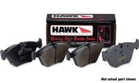 Rear, Hawk HP Plus Performance Brake Pads, Audi A4 Quattro 97-01