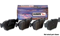 Rear, Hawk HPS Performance Brake Pads, Audi A4 Quattro 97-01