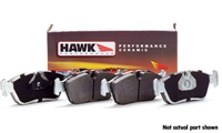 Rear, Hawk Performance Brake Pads - Ceramic, Audi A4 Quattro 97-01