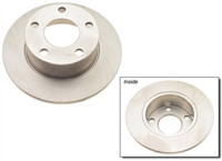 4A0615601A_qty2 Rear Rotors, FWD Passat 98-05
