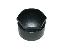 17mm Head Wheel LOCK Bolt Caps (Black) - Priced