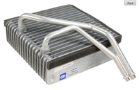 1J1820007B A/C Evaporator (w/Electronic A/C), Mk4