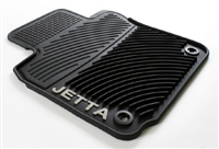 1KM061550H041 Monster Mat Rubber Floor Mats, Jetta logo (oval
