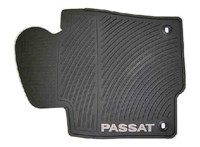 3C1061550HA041 Monster Mat Rubber Floor Mats, Passat logo (round