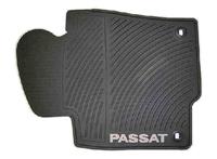 3C1061550HA041 Monster Mat Rubber Floor Mats, Passat logo (round