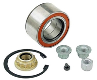 1H0498625_GENUINE Wheel Bearing Kit, VW GENUINE - Front, Mk3 VR6