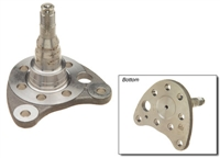 333501117_GENUINE Rear Stub Axle (Left Driver Side), VW pre-99 w/Disc Brakes, VW GENUINE