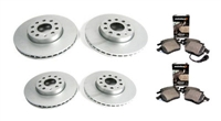 URO-0042 OEM Size Brake Kit, B6 Passat 3.6L 4-Motion