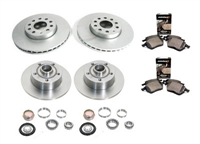 bk.oem.01 OEM Brake Kit, VW Mk3 Golf/Jetta VR6 96-99