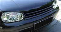 GR-VWG4-B Badgeless Grill (JOM 3-bar), Mk4 Golf, Black