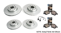 bk.oem.05 OEM Brake Kit, VW Mk4 Golf R32