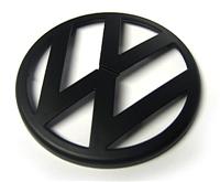 Black Matte VW Emblem, Front Mk4 Golf/GTi/R32