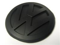 EMBLEM-VWG4-R-MATTE Black Matte VW Emblem, Rear Mk4 Golf/GTi/R32