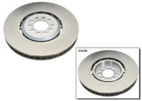 Front Plain OEM Rotors, Mk4 R32 (pair)