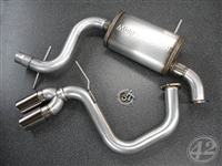 42 Draft Designs Cat-Back Exhaust, Audi A3 (8P) 2.0T FWD
