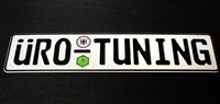 Uro_Plate_std UroTuning European License Plate, Standard