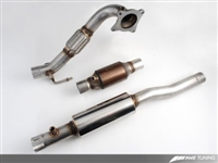 3215-11022 AWE Tuning Mk6 GTI/Mk2 TT 2.5- Downpipe