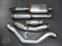 42 Draft VW Mk4 1.8T Turboback Exhaust System w/