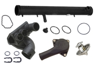 ULT-Thermo-Kit-Mk4-R32 Thermostat Housing Kit, Mk4 Golf R32