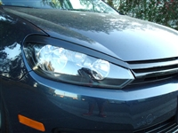EY-VWG6 Headlight Eyelids, Mk6 Golf/GTi/Jetta Sportwagen
