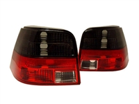 HVWG4TL-SR Helix Smoked/Red Tail Lights, Mk4 Golf/GTi