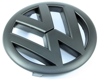 Black -VW- Emblem, Front Mk6 Golf/GTi