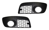 Mk5_GTi_open_grills Honeycomb Bumper Grill Set with Hole, Mk5 GTi/GLi