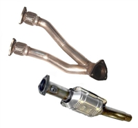 251.236_253.168L Techtonics Dual Downpipe w/Hi-Flo Cat, Mk4 24v