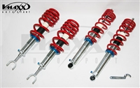 70 AU 03- -V-Maxx XXtreme Damping Coilover Kit, B5 Audi A4