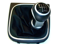 1K0711113CLUSY Shift Knob and Boot GTi/GLi, Mk5 6-speed