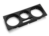 1J0819157G1QA Heater Control Trim Cover - Black, Mk4