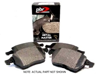 D1865M Rear, PBR Metal Master Brake Pads, Mk5