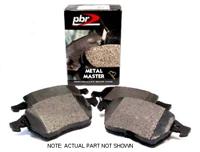 D1865D Rear, PBR Deluxe Brake Pads, Mk5