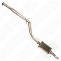 253.440 Techtonics 2.5- Aluminized Cat Back Exhaust, Mk3