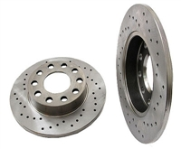 8E0615601BSP_qty2 Rear Rotors 245mm (Cross-Drilled), B6 Audi A4